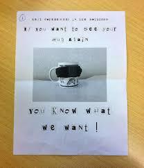 ransom letter generator funny ransom demands michael toomim