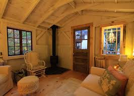 home office cabin. Charming-Interior-with-Delightful-Touches 12-16 Home Office Cabin ,