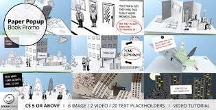 Popup Book Templates Paper Popup Book Promo By Snowcake Videohive