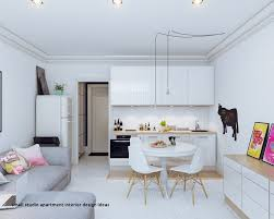 Interior Design For Studio Apartments Custom Inspiration Design