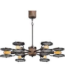 uttermost 21314 gavia 6 light 39 inch heavily antiqued plated brass chandelier ceiling light photo