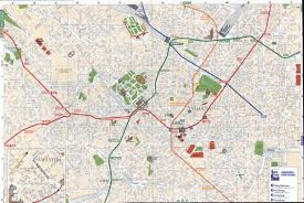milan downtown map  milan italy • mappery