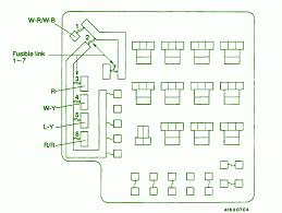 mitsubishi diamante fuse box under the hood wirdig 1994 mitsubishi galant underhood fuse box diagram