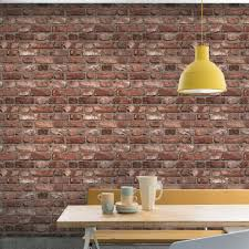 faux kitchen tile wallpaper. grandeco vintage house brick pattern wallpaper faux effect textured a28901 kitchen tile x