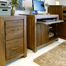 solid walnut hidden home office. Mayan Solid Walnut Hidden Home Office O