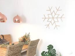 Diy Schneeflocke Skandinavian Style Elfenweiss