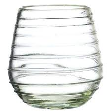 oz stemless wine glass amici home glassware improvement s global