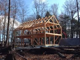 24x40 casco bay barn house timber frame frames houses plans uk 14250ff4c0081e2131c9e014f03 timber frame bungalow plans