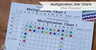 Multiplication Incentive Chart Multiplication Star Charts Researchparent Com
