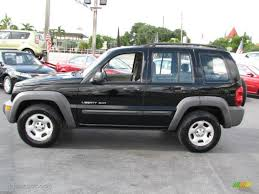 Black Clearcoat 2003 Jeep Liberty Sport Exterior Photo #39753774 ...