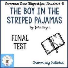 the best essay questions ideas best study  the boy in the striped pajamas final test