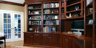 home office library. Home Office Library Wall Shelving Unit Furniture Custom Built Offices Libraries . Modern