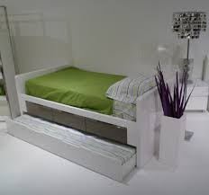 modern twin bed. White Twin Bed With Drawers Model Modern