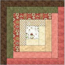 Traditional Log Cabin Quilt Block Pattern Download – The Feverish ... & Traditional Log Cabin Quilt Block Pattern Download ... Adamdwight.com
