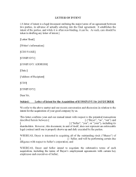 Letter Of Intent For Acquisition Docr Sdn Bhd Agreements