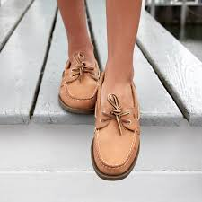how should sperry boat shoes fit with socks