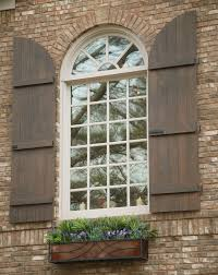 Building Exterior Shutters Arched Board Batten Shutters For The Home Pinterest Batten