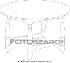 coffee table drawing.  Table Round Table Drawing Intended Coffee Table Drawing E