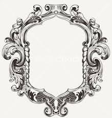 Image Printable Vintage High Ornate Original Royal Frame Vector 1221454 By Azz On Vectorstock Wood Carving Pinterest 270 Best Designs Mirror Frames Images In 2019 Frames Carving