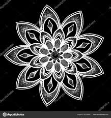 шаблон круглые тату векторное изображение Tamsamtam 162134456