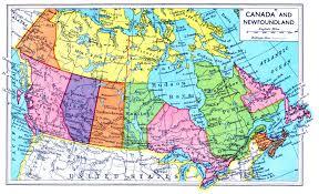 Download Map De Canada Major Tourist Attractions Maps