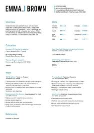 Stunning Resume Freelance Design Ideas Example Resume And For