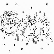 Small Picture free coloring pages santa reindeer reindeer colouring pages online