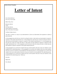 Nursing Letter Of Intent Resume And Letter Intent Resume Letter Intent