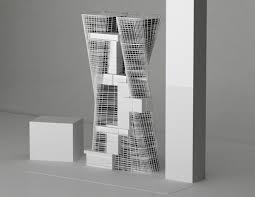 urban office architecture. Sustainable, Urban Office Architecture, Parramatta, Australia, Tower, Suspended, Warp, Architecture