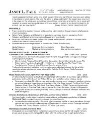 Public Relations Resume Template Public Relations Mid Experience