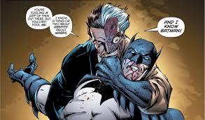 When Dick Grayson took up the mantle of Batman, were villains able to tell  he was not the same Batman they knew? - Quora