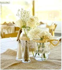 Decorating With Mason Jars And Burlap Shabby Chic Wedding Centre Pieces X 100 Mason Jar And Burlap 93