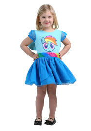 disguise rainbow dash tutu deluxe my little pony costume dress girls girls rainbow dash deluxe costume dress wings at back