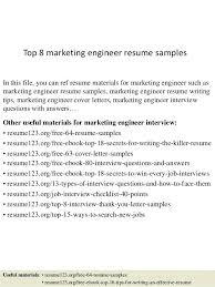 Ppc Engineer Resume Sample Best of Resume Samples For Marketing Top 24 Marketing Engineer Resume Samples