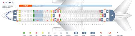 80 Right Delta Airlines Boeing 767 300 Seating Chart