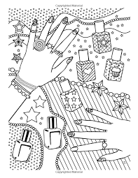 Small Picture Girl Stuff 24 Totally Girly Coloring Pages Dani Kates