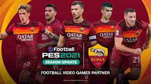 eFootball PES 2021 x AS Roma - Partnership Announcement Trailer - YouTube