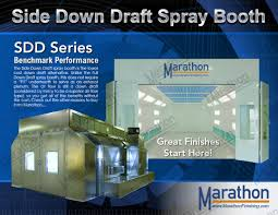 Downdraft Paint Booth Design Pdf Industrial Paint Booth Side Down Draft Marathon