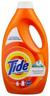 <b>Гель</b> для <b>стирки Tide</b> для белого и цветного Альпийская свежесть ...