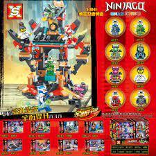 Đồ chơi lắp ráp logo xếp hình Ninjago SX2018 Season phần 12 Digi Ninja  Okino Tu Viện Của Đế Chế Madness trọn bộ 8 hộp chính hãng 128,000đ