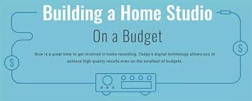 building a home budget how to build a home recording studio on a budget