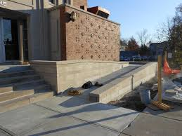 others are able to add a little more aesthetics to the function here is a case of the latter with a wheelchair ramp for a church in cincinnati ohio