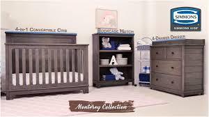 simmons monterey dresser rustic white. simmons kids® monterey collection dresser rustic white d