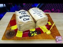 Harry Potter Birthday Cake Youtube