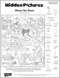 A hidden picture puzzle by liz ball. Printable Hidden Highlights Pictures