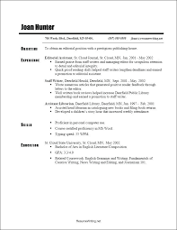 Chronological Resume Format Download Resume Template Ideas