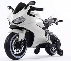 <b>Детский электромотоцикл Ducati</b> White 12V - FT-1628-WHITE ...