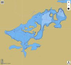 Cow Lake Adams County Page Fishing Map
