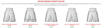 Short Templates Suzi Wong Taking Boxing Short Design To The Next Level