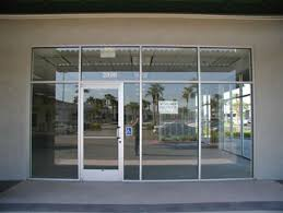 Glass Storefront Door Frameless Store Front Glass Storefront Door